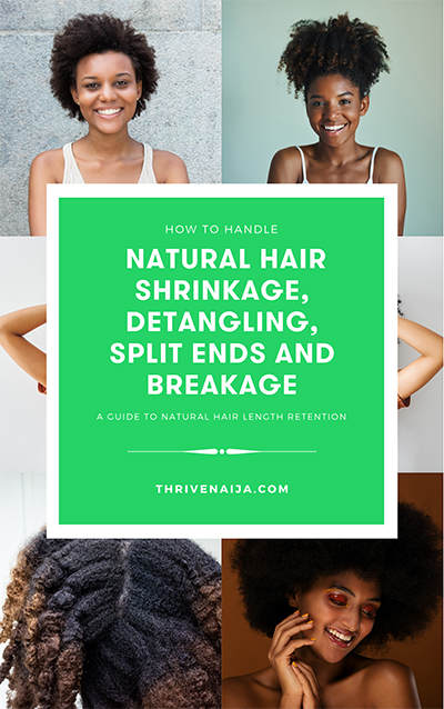 how to handle natural hair shrinkage