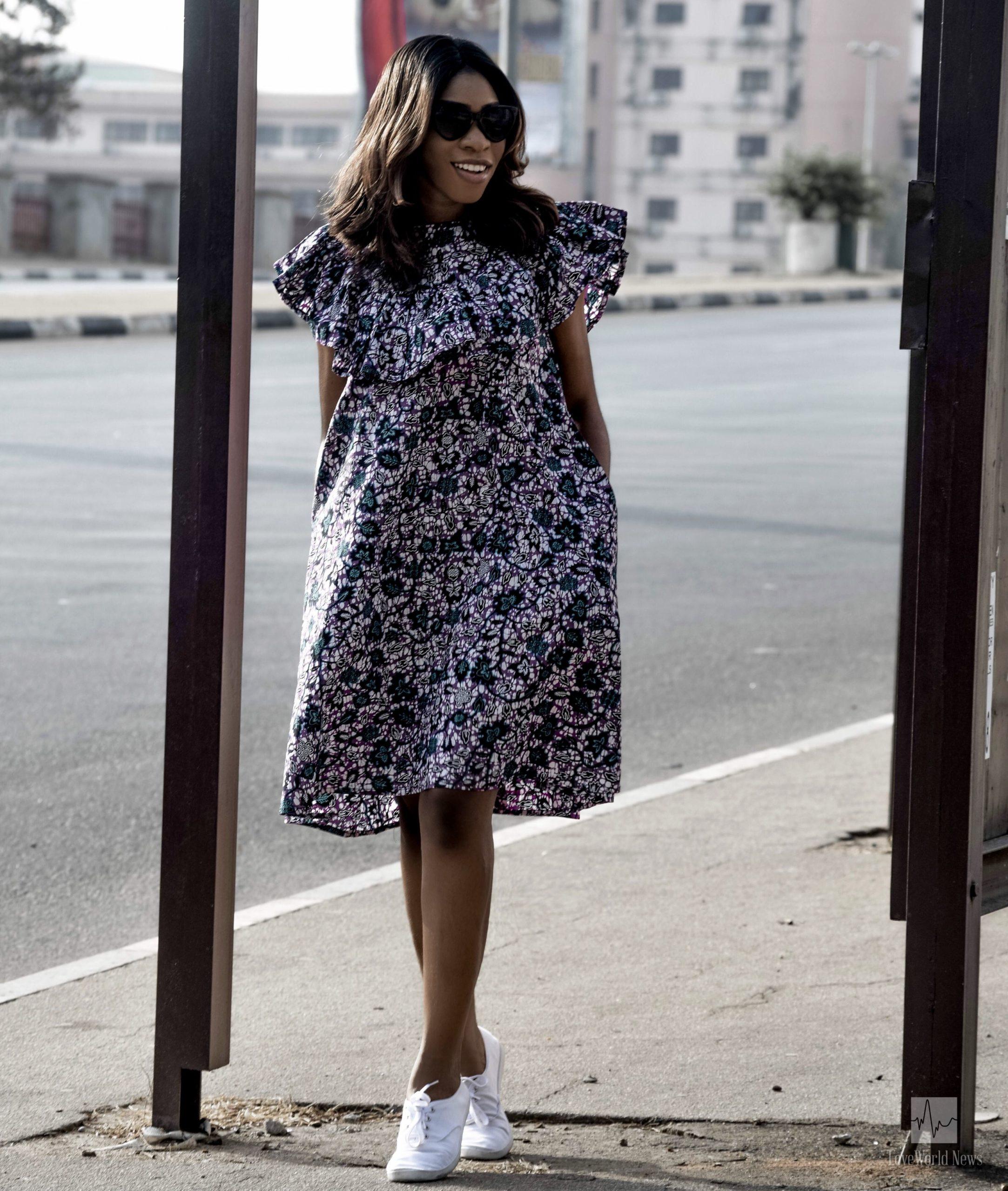 Average Ankara Gown Style