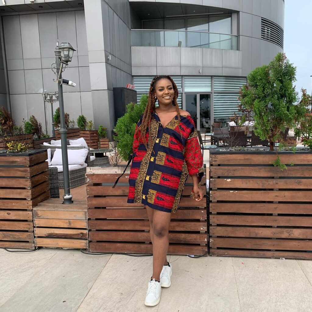 Shift Ankara Short Gown Style