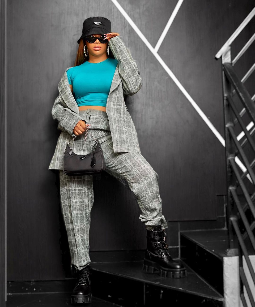 Toke Makinwa Took The Edgy Look To A Formal Level