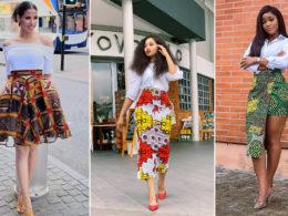 latest ankara skirt styles