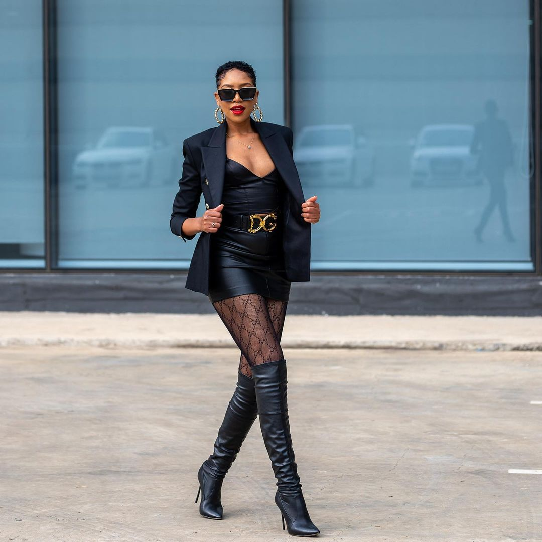 Blue Mbombo Enviable Style Gets Attention