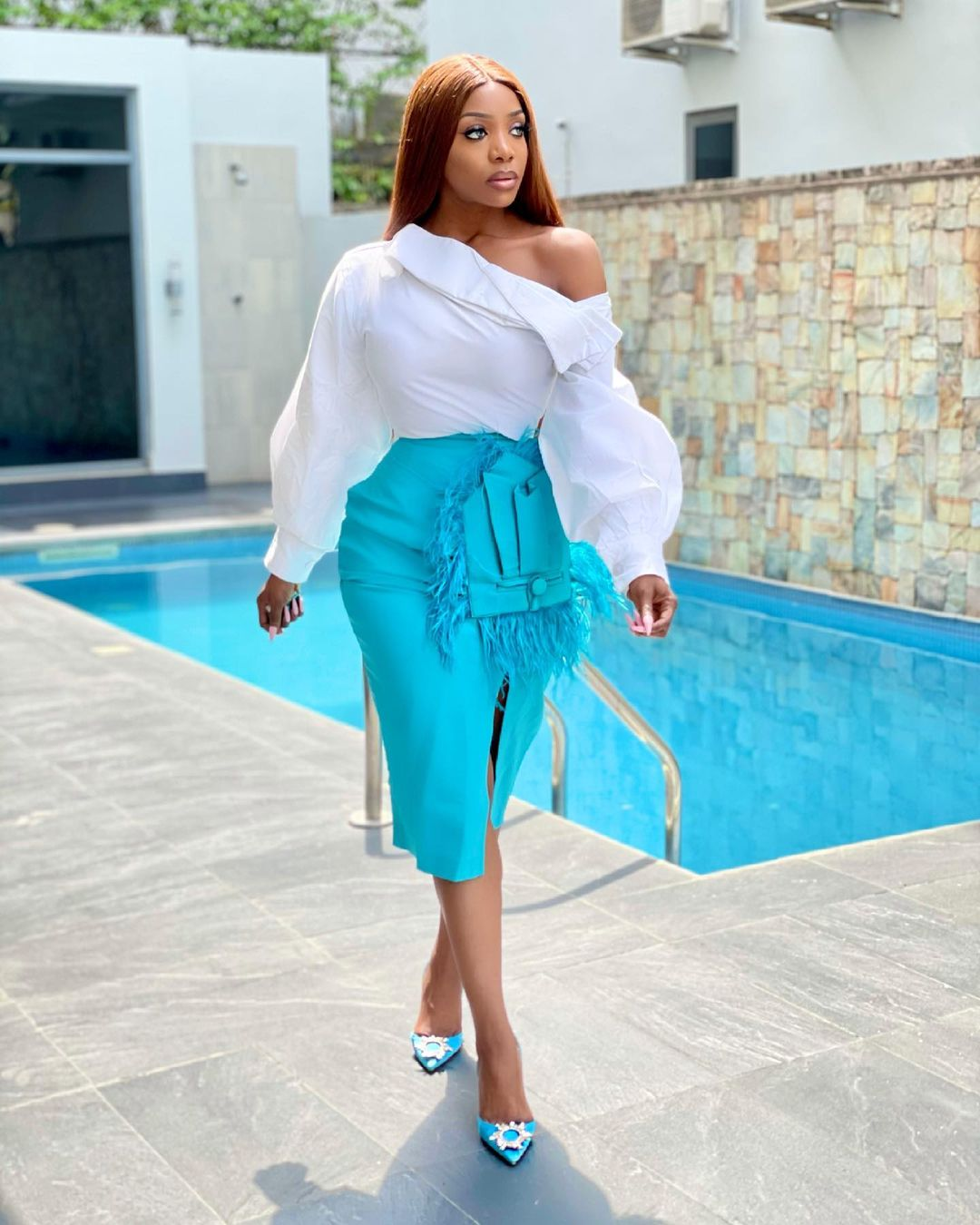 Chioma Goodhair: Color Combination Looks Perfect