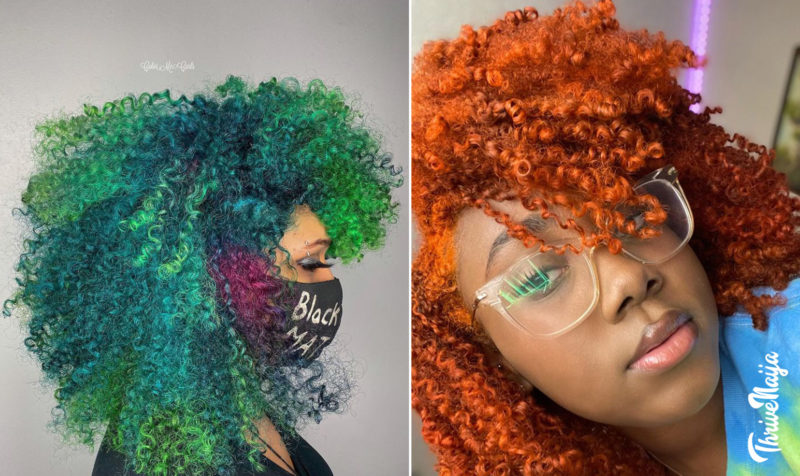How to dye natural hair properly