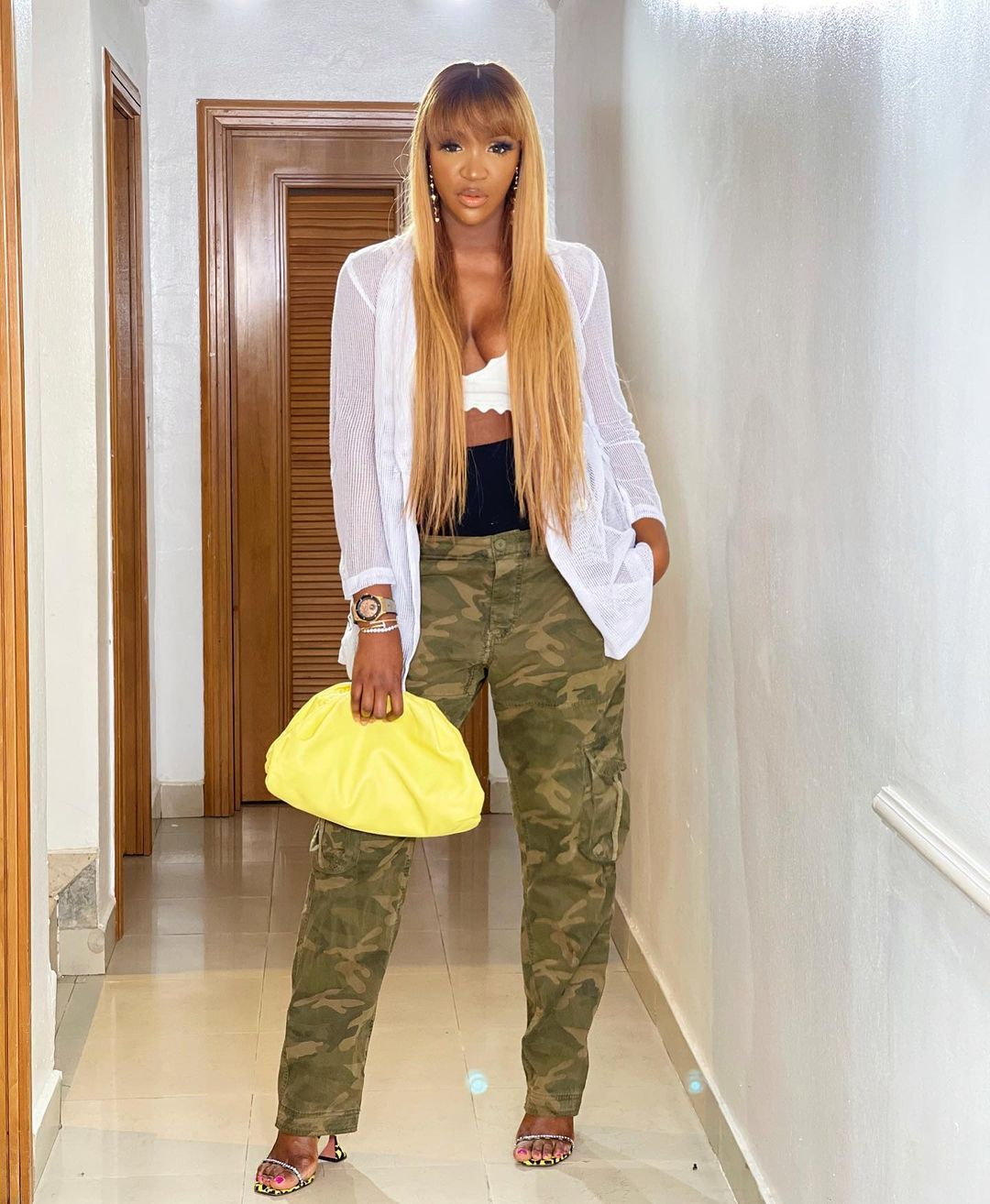 Idia Aisien Pulls Off The Chic Look With Ease