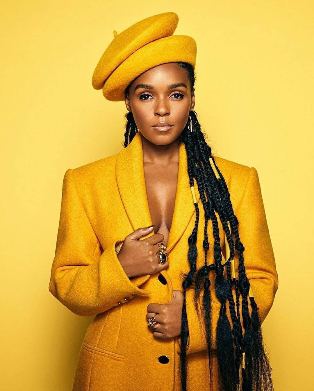 Janelle Monae Outstanding Hat Look Leaves No Stone Unturned