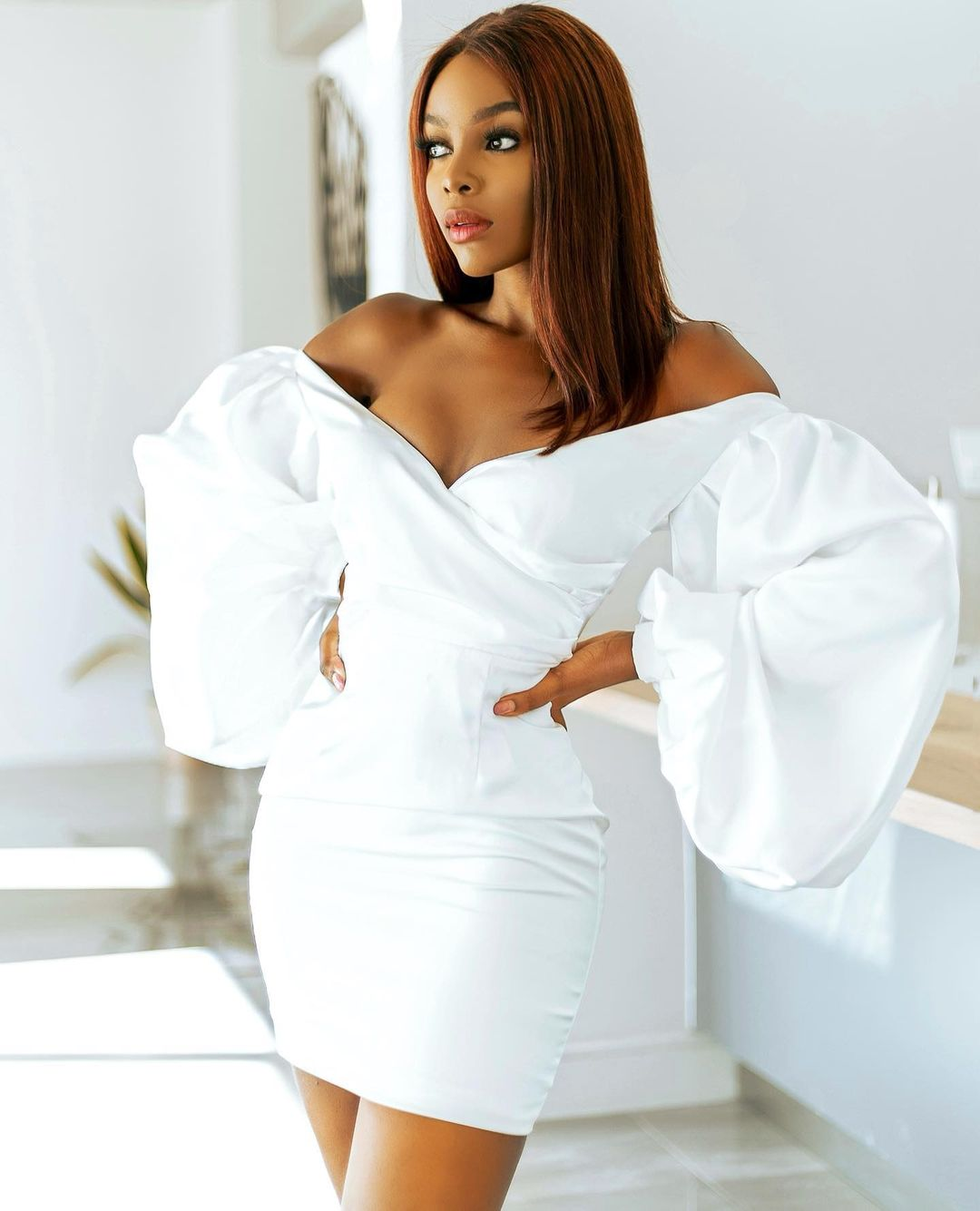 Julitha Kabete: Looking Gorgeous In All Shades Of White