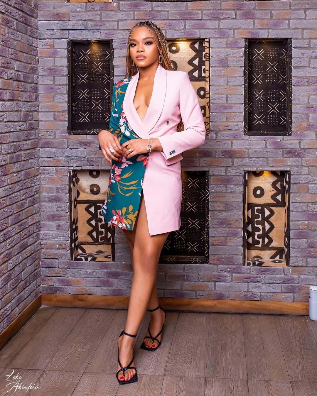 Lilo Aderogba: Simple Blazer Dress