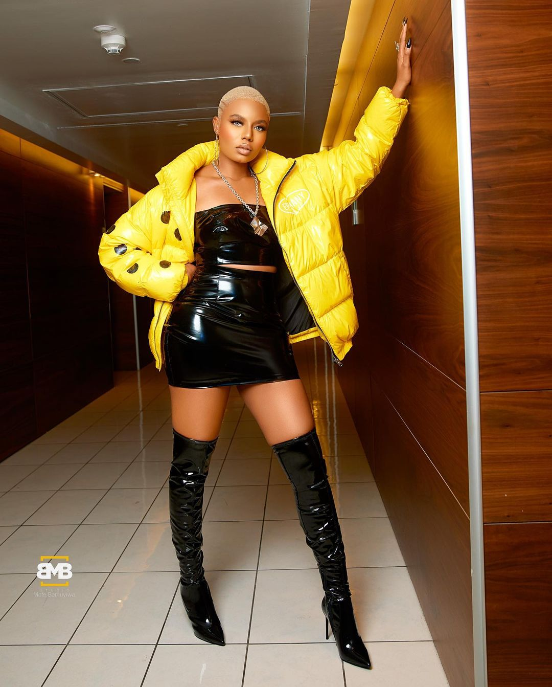 Nancy Isime Stylish Edgy Look For The Headies Was Stunning