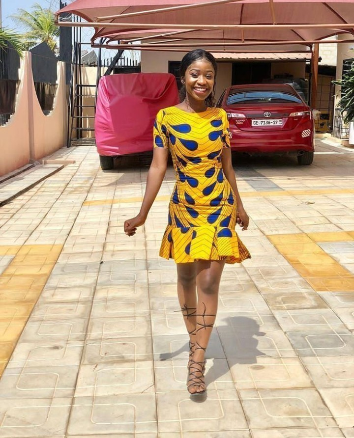 Stylish Ankara Gown For Teenagers