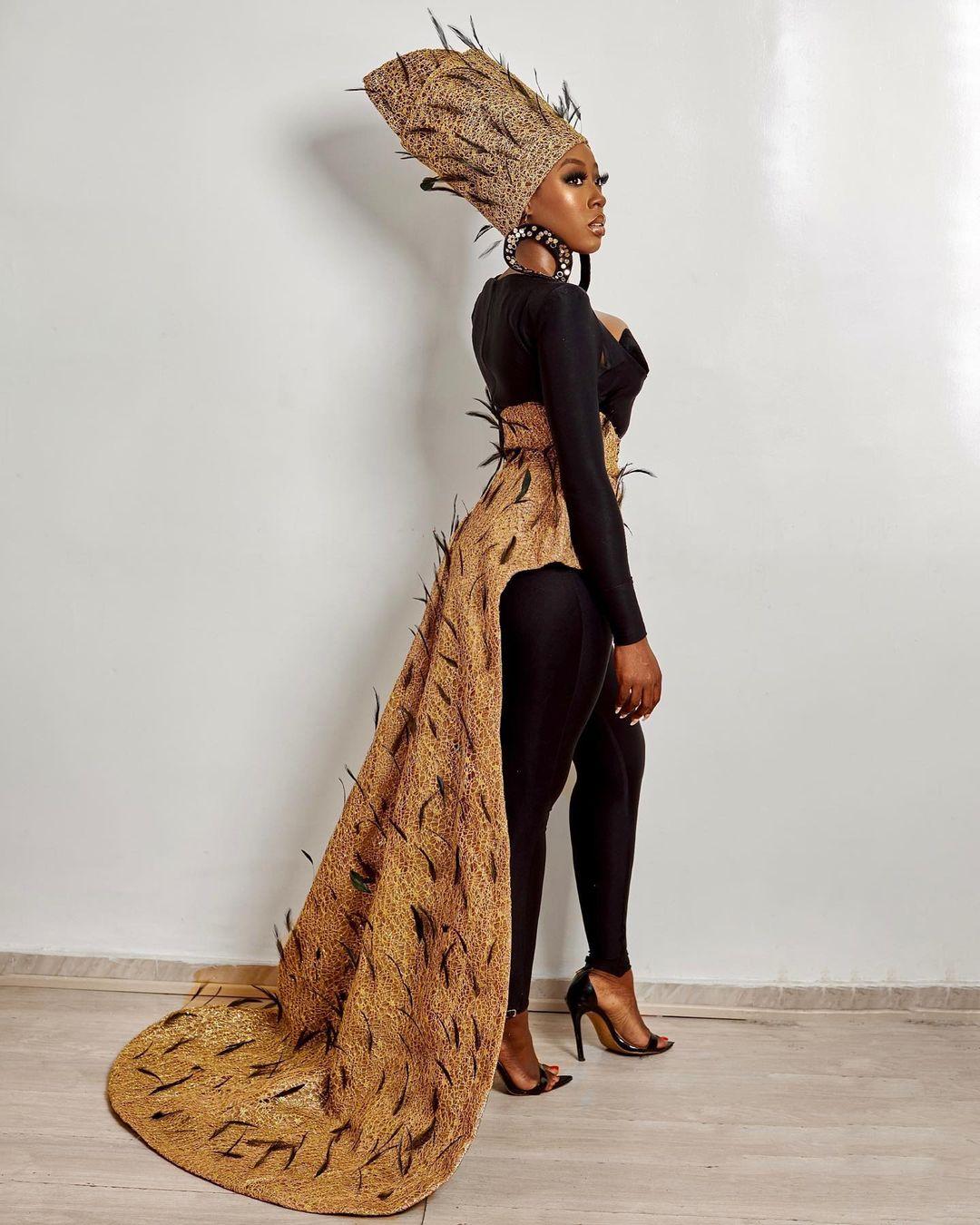Beverly Naya Elegant Look Wraps Up The Weekend