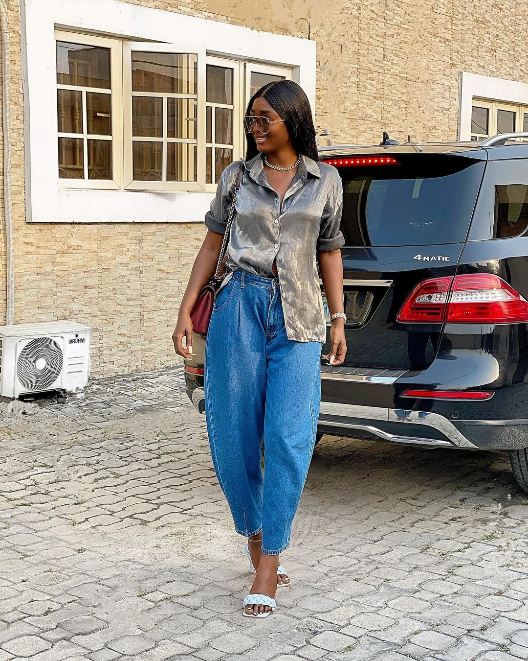 Tolu Bally Keep It Cool In Baggy Jeans