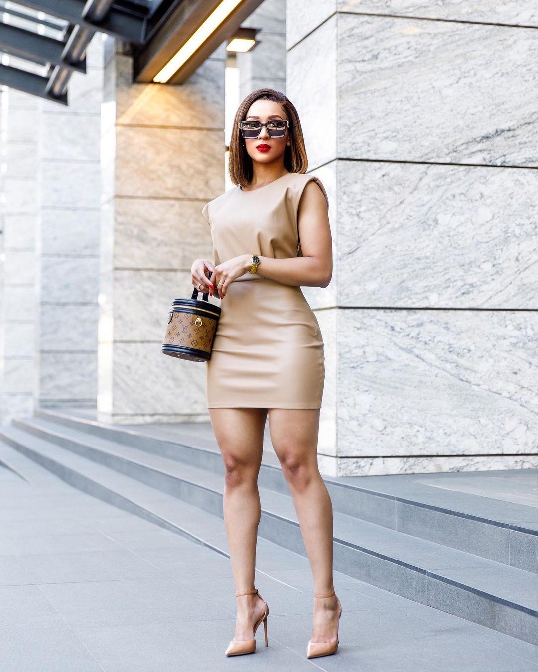 Chilla Macame: Stunning Short Dress