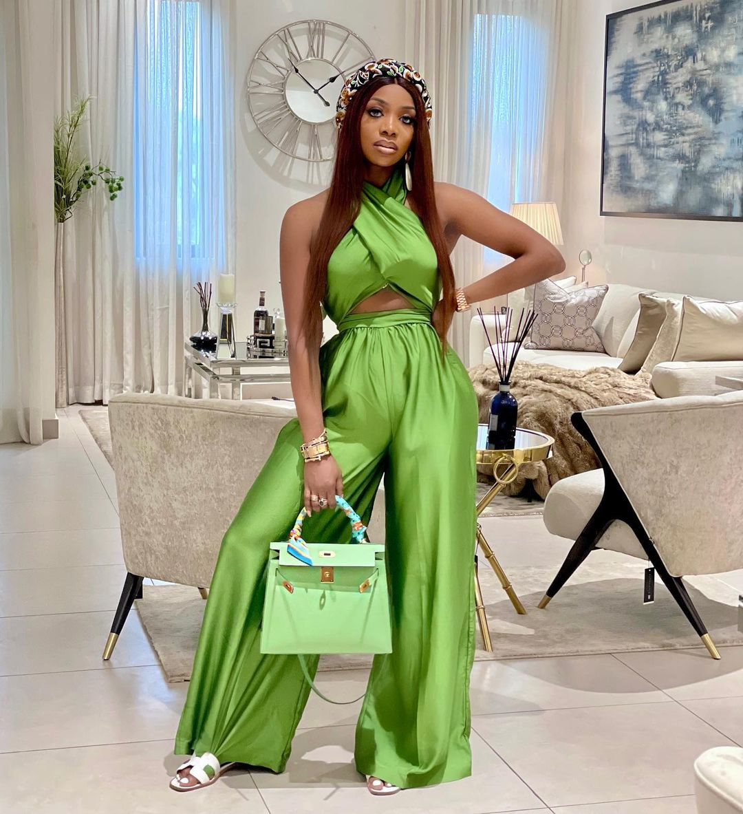 Chioma Goodhair: Crossed Sleeveless With Palazzo