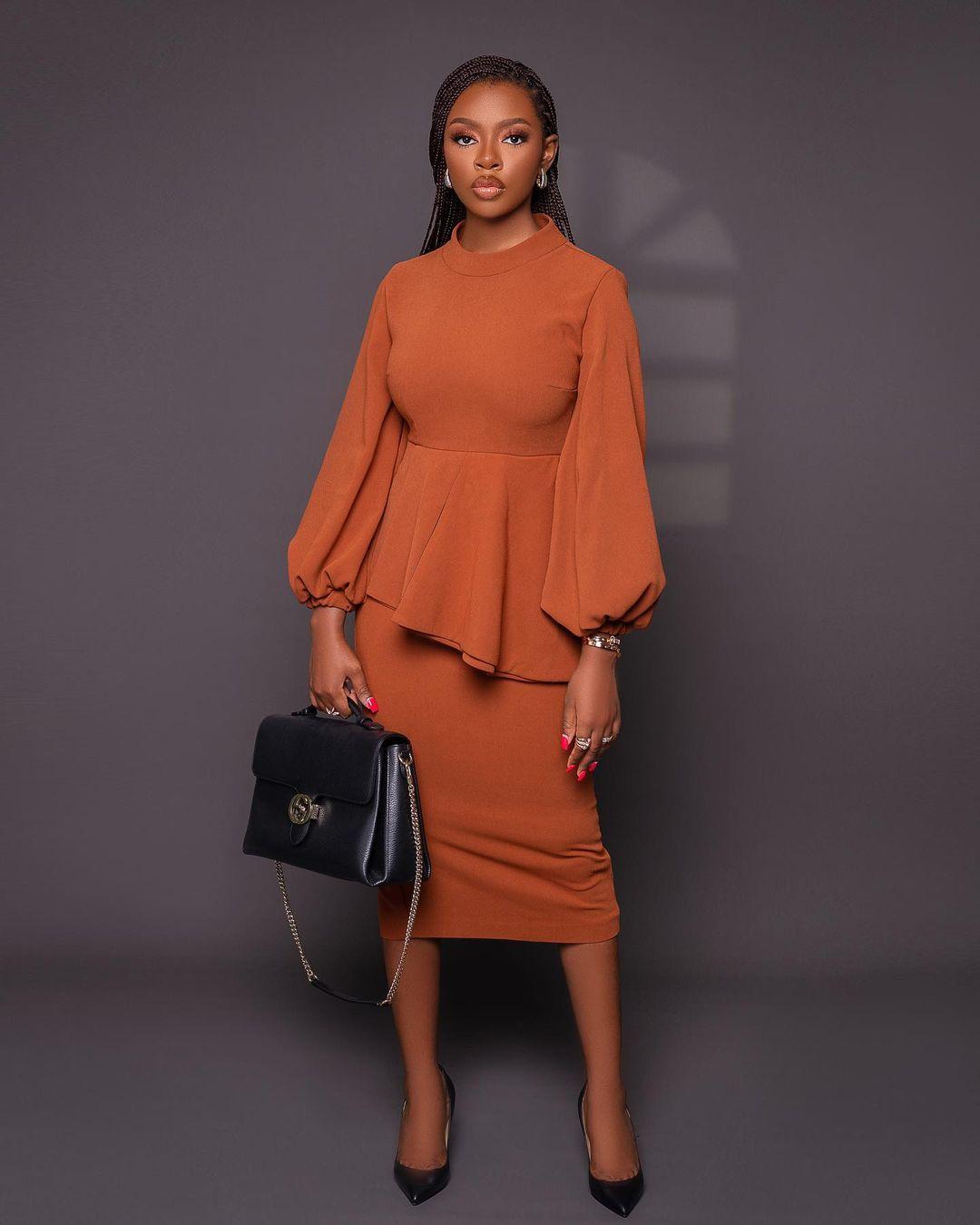Diane Russet: Beautiful Boss Lady Dress