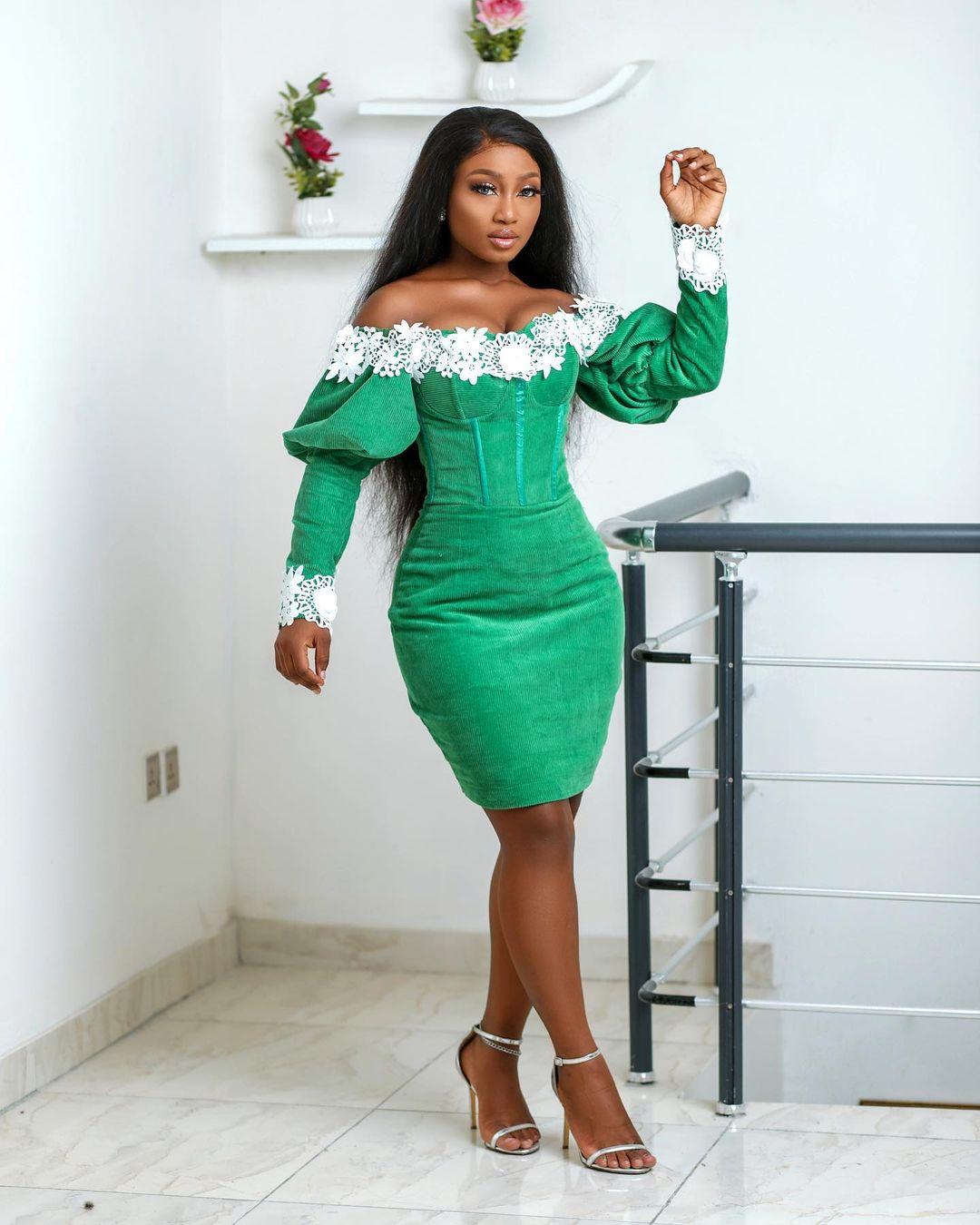 Esther Agunbiade: Green With Envy