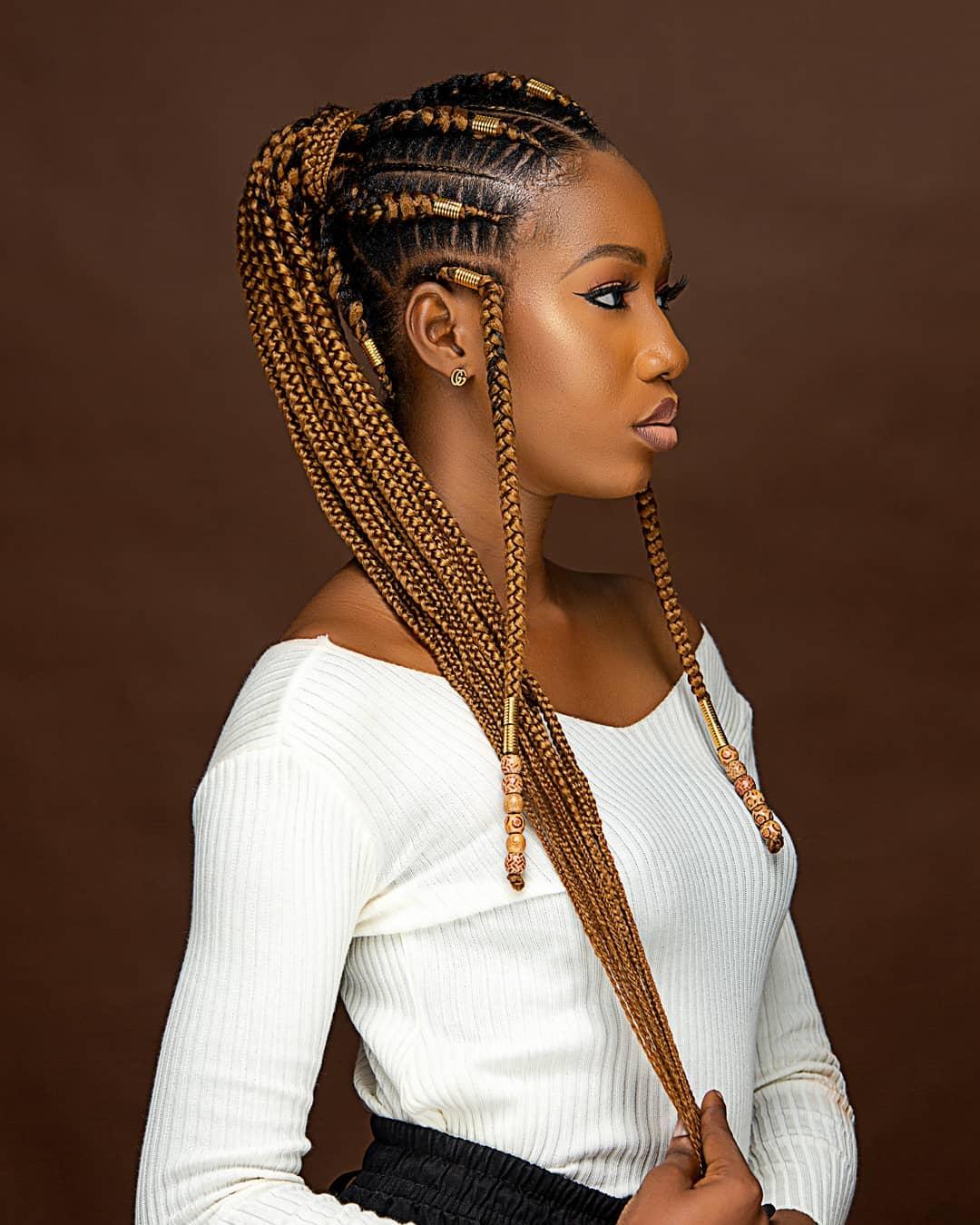 Shuku Stitch Ghana Weaving