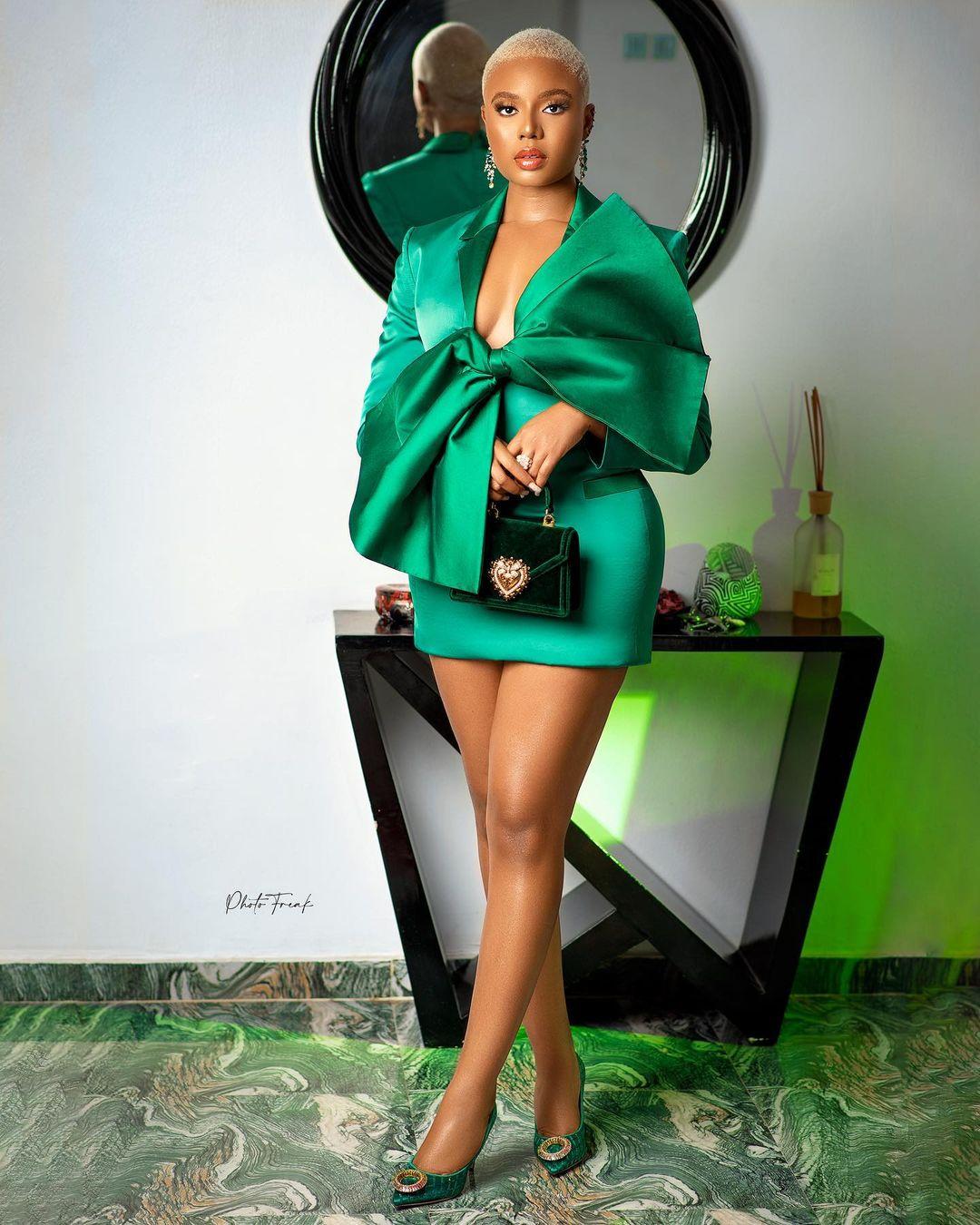 Nancy.E.Isime: Green With Envy