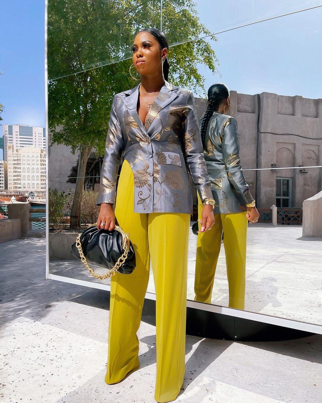 Olar Folami: Blazer With Pant