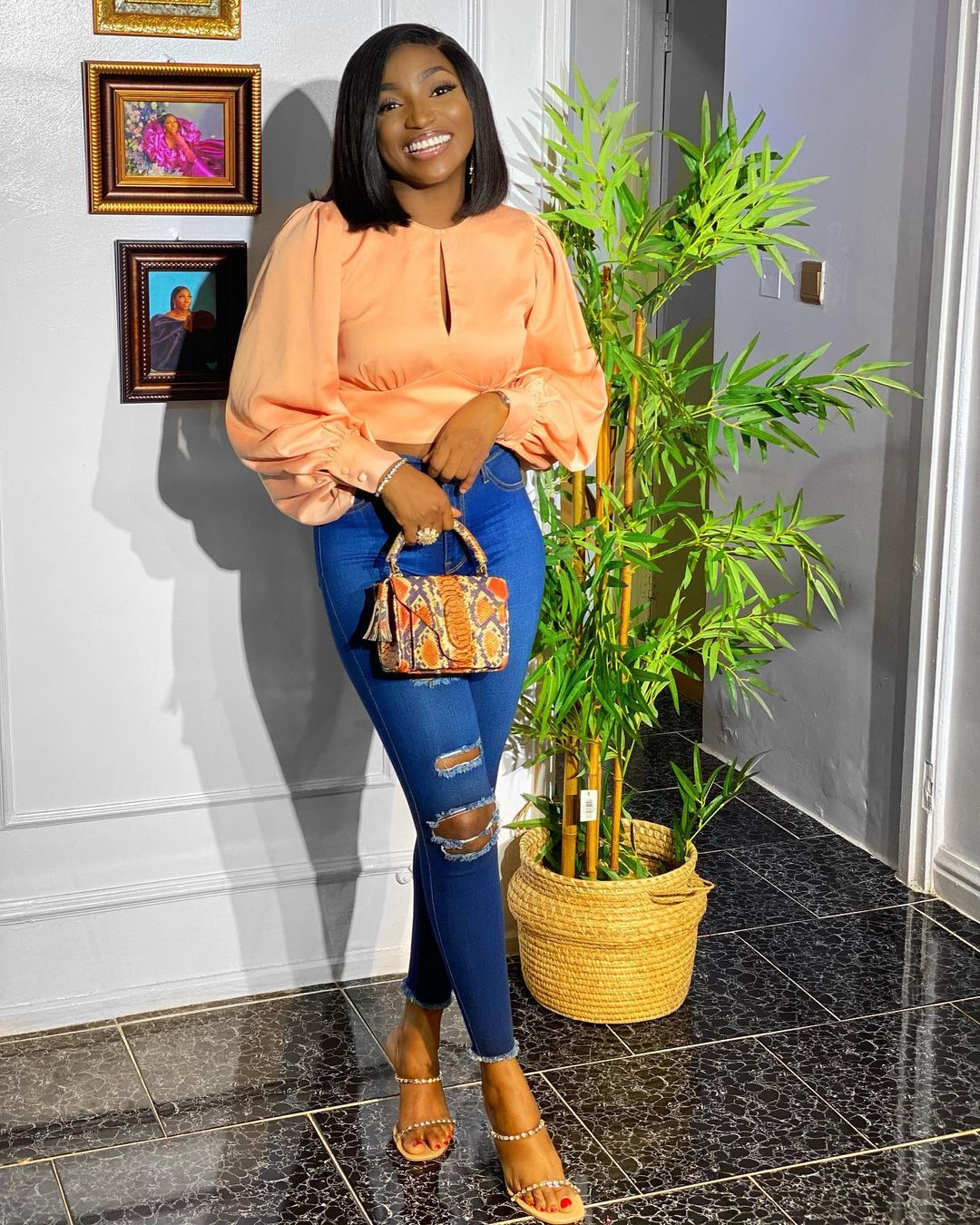 Omowunmi Dada: Cute And Trendy Outfit