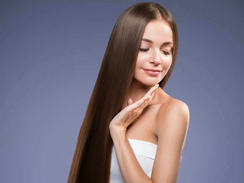 how to get smooth silky hair in one day`