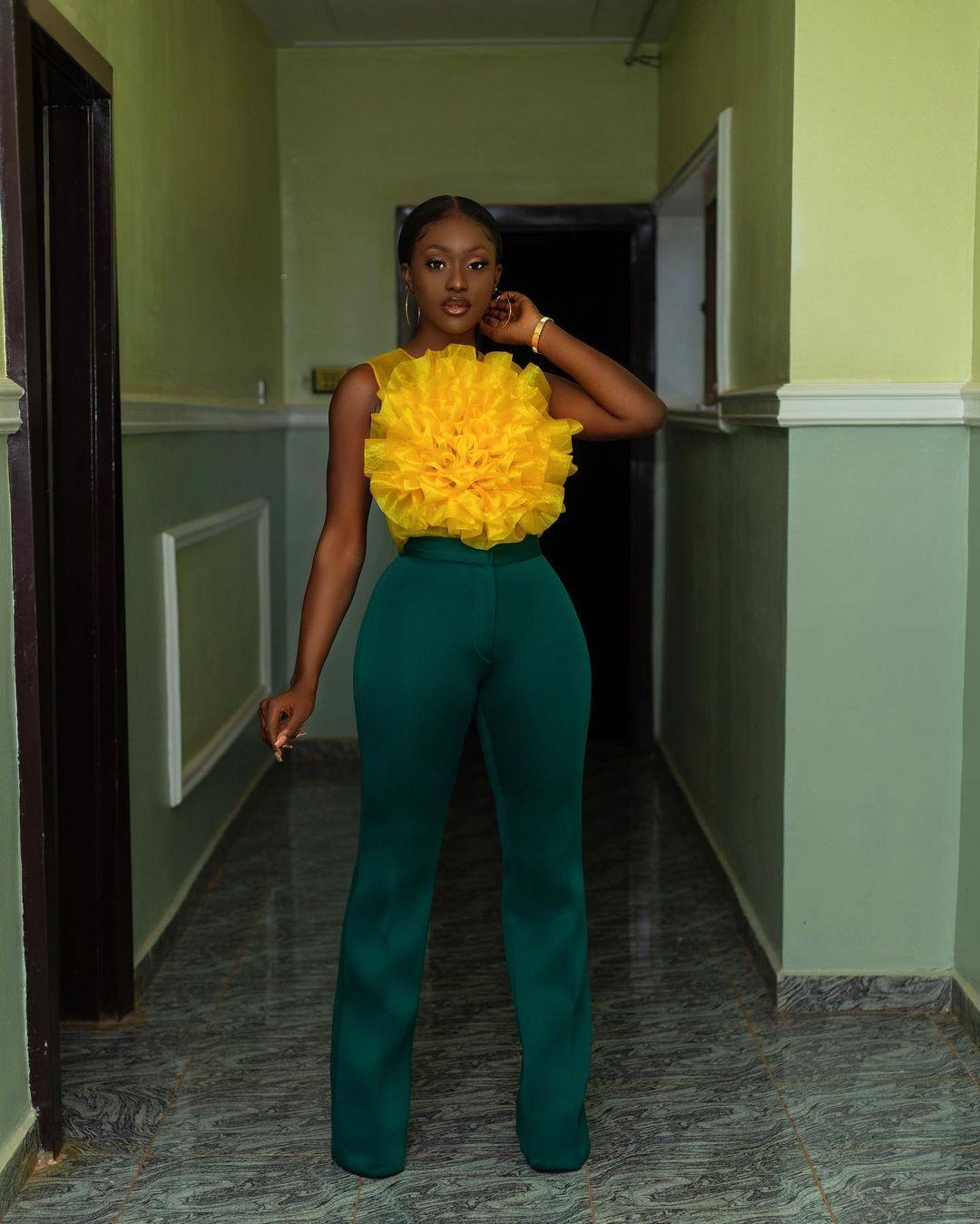 Linda Osifo- Keeping It Lit With Yellow