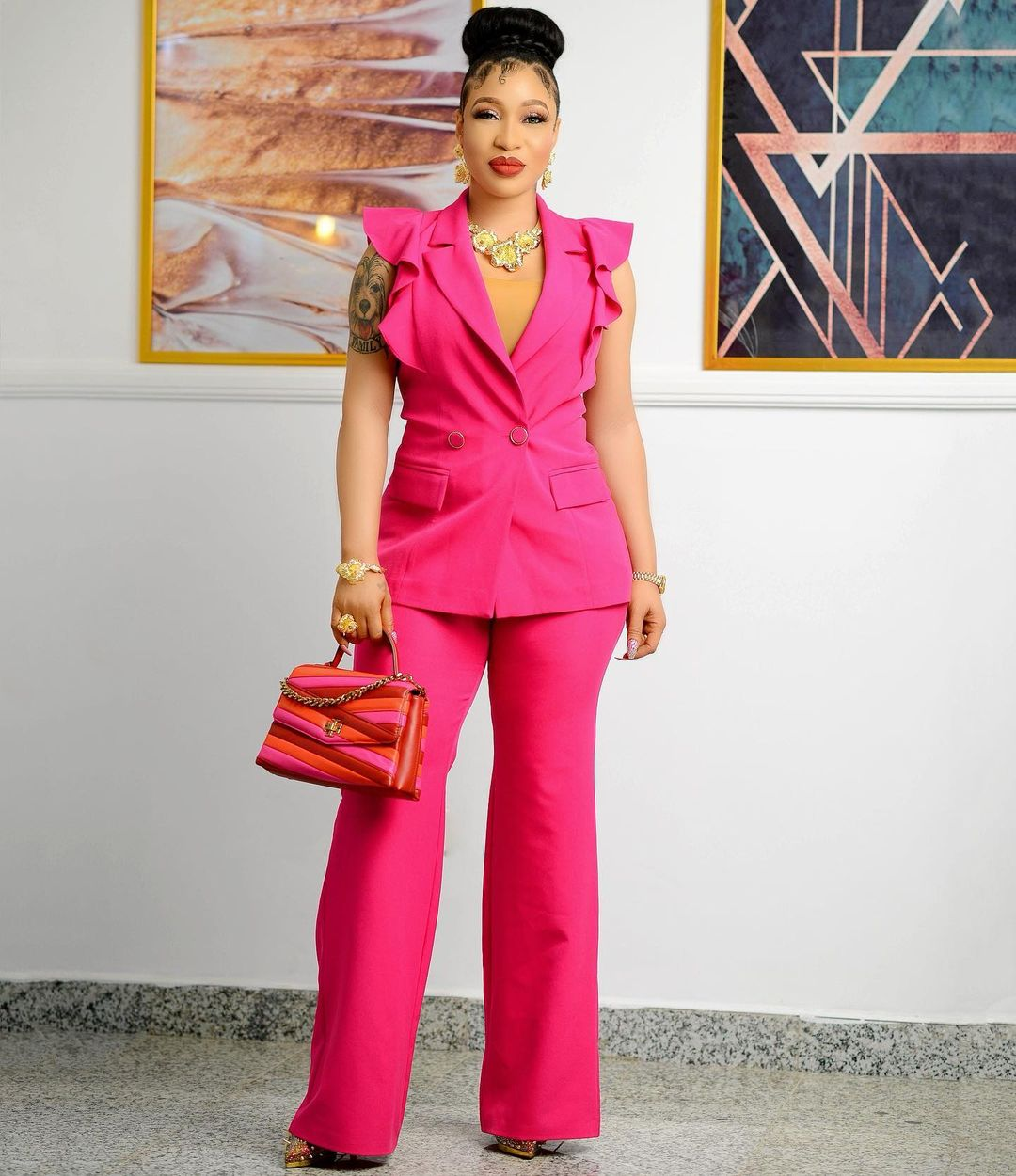 Tonto Dikeh- Keeping It Cool And Formal