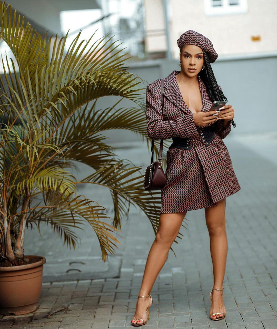 Venita Akpofure- Looking Adorable In Blazer